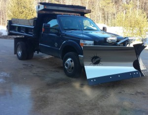 Snow plowing nh